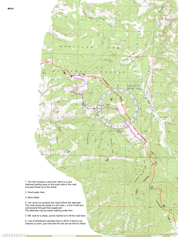 Cdt Colorado Map.Cdt Maps
